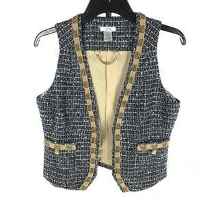 Cache Tweed Vest